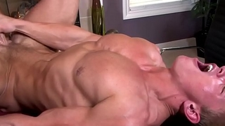 Sixpack stud wanks cum dimension fucked by tutor