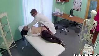 Stunning sexual intercourse by a wicked doctor