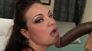 A Swart Dude Fucks Plumper Angelina and Cums in Her Face
