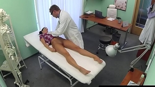 Pussy banged patient loves doctors big cock