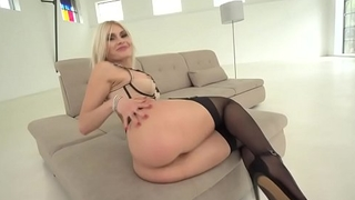 Kitana Lure takes deep anal sex in stockings