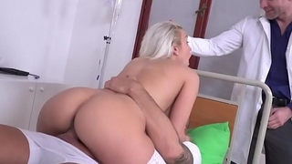 Blonde take charge of got DPed - Cecilia Scott
