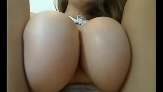 Hot slut with incredible big round tits live show