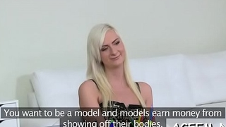 Female agent is willing for sex games