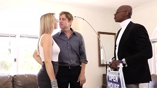 Hot Blonde Wife Zoey Monroe Caught Cheating Respecting Black Sponger Cuckold