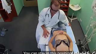 Sexy doctor is surrounding to have a fun sex