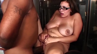 Horny bbw gossip columnist caught masturbating